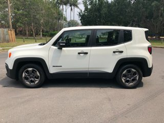 2015 Jeep Renegade BU Trailhawk White 9 Speed Automatic Wagon
