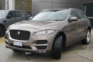 2016 Jaguar F-PACE X761 MY17 Prestige Bronze 8 Speed Sports Automatic Wagon.