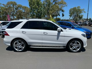2014 Mercedes-Benz M-Class W166 ML350 BlueTEC 7G-Tronic + White 7 Speed Sports Automatic Wagon
