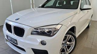 2012 BMW X1 E84 LCI sDrive20i Steptronic White 8 Speed Sports Automatic Wagon.