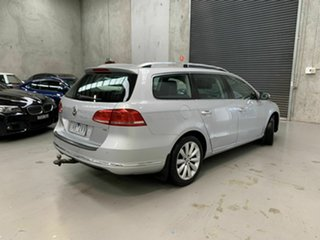 2011 Volkswagen Passat Type 3C MY12 118TSI DSG Silver 7 Speed Sports Automatic Dual Clutch Wagon