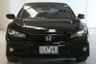 2017 Honda Civic MY17 VTi-LX Black Continuous Variable Hatchback
