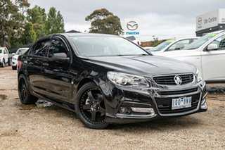 2013 Holden Commodore VF MY14 SS V Black 6 Speed Sports Automatic Sedan.