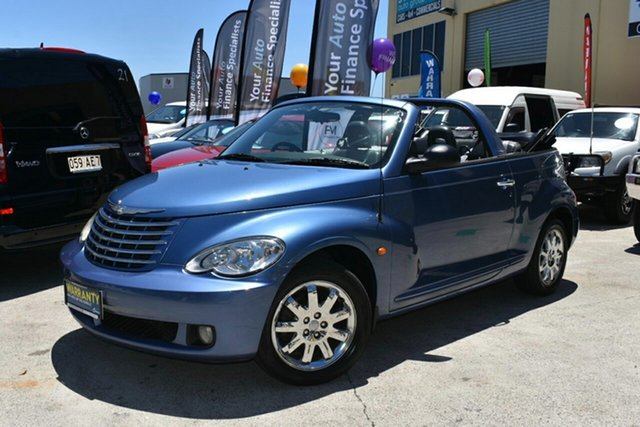 Used Chrysler PT Cruiser MY06 Limited Capalaba, 2006 Chrysler PT Cruiser MY06 Limited Blue 5 Speed Manual Cabriolet