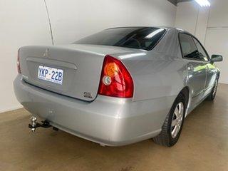 2005 Mitsubishi Magna TW Series II ES Silver 4 Speed Auto Sports Mode Sedan.