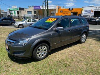 2009 Holden Astra AH MY09 CD Grey 4 Speed Automatic Wagon.