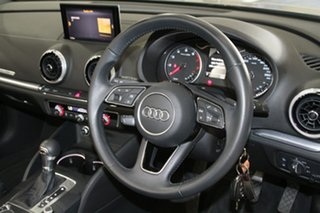 2017 Audi A3 8V MY17 Sport S Tronic Silver 7 Speed Sports Automatic Dual Clutch Cabriolet
