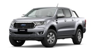 2021 Ford Ranger PX MkIII 2021.25MY XLT Aluminium Silver 10 Speed Sports Automatic.