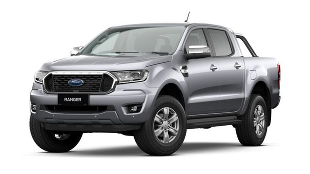 New Ford Ranger PX MkIII 2021.25MY XLT Homebush, 2020 Ford Ranger PX MkIII 2021.25MY XLT Aluminium Silver 6 Speed Manual Double Cab Pick Up