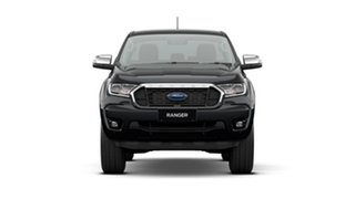 2020 Ford Ranger PX MkIII 2021.25MY XLT Black 6 Speed Sports Automatic Double Cab Pick Up.