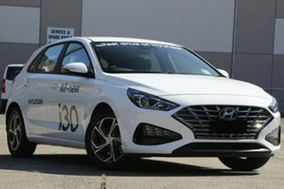 2021 Hyundai i30 PD.V4 MY21 Polar White 6 Speed Sports Automatic Hatchback.