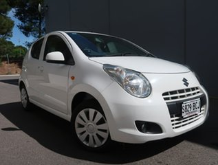 2013 Suzuki Alto GF GL White 4 Speed Automatic Hatchback.