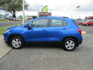 2018 Holden Trax TJ MY18 LS Blue 6 Speed Automatic Wagon.
