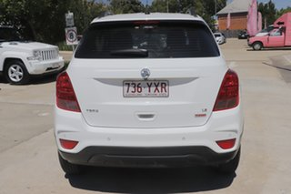 2017 Holden Trax TJ MY18 LS White 6 Speed Automatic Wagon