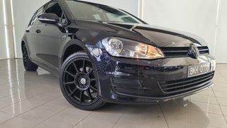 2016 Volkswagen Golf VII MY17 92TSI DSG Trendline Black 7 Speed Sports Automatic Dual Clutch Wagon.