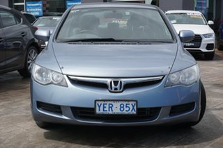 2006 Honda Civic 8th Gen VTi Blue 5 Speed Manual Sedan.