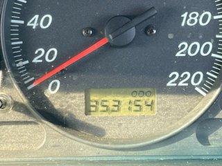 2001 Ford Laser KN LXI Silver 5 Speed Manual Sedan