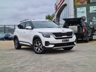 2020 Kia Seltos SP2 MY20 Sport+ 2WD Snow White Pearl 1 Speed Constant Variable Wagon.