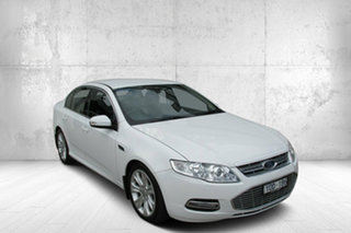 2012 Ford Falcon FG MkII G6E White 6 Speed Sports Automatic Sedan.