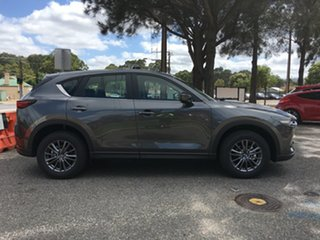 2020 Mazda CX-5 KF4WLA Touring SKYACTIV-Drive i-ACTIV AWD Machine Grey 6 Speed Sports Automatic.