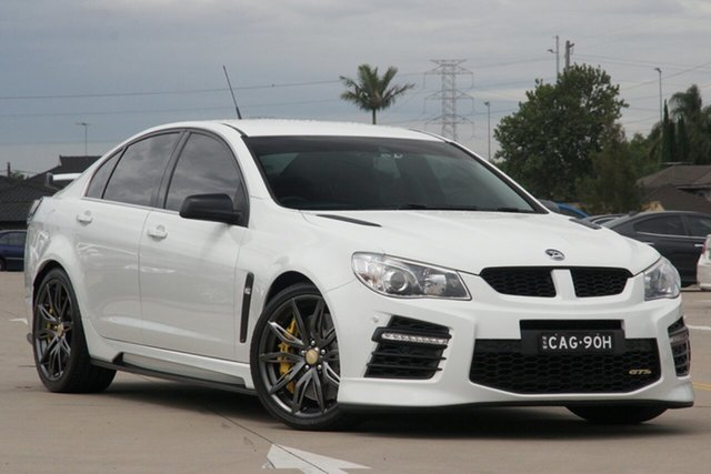 Used Holden Special Vehicles GTS Gen F2 Chullora, 2016 Holden Special Vehicles GTS Gen F2 White 6 Speed Auto Active Sequential Sedan