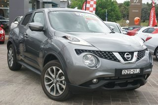 2018 Nissan Juke F15 MY18 Ti-S X-tronic AWD Grey 1 Speed Constant Variable Hatchback.