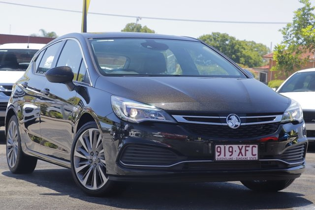 Used Holden Astra BK MY17 RS-V Toowoomba, 2017 Holden Astra BK MY17 RS-V Black 6 Speed Sports Automatic Hatchback