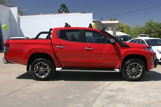 2020 Mitsubishi Triton MR MY21 GLS Double Cab Red 6 Speed Sports Automatic Utility