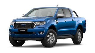 2021 Ford Ranger PX MkIII 2021.25MY XLT Blue Lightning 10 Speed Sports Automatic Double Cab Pick Up.