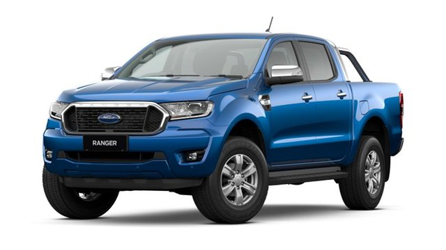 New Ford Ranger PX MkIII 2021.25MY XLT Homebush, 2021 Ford Ranger PX MkIII 2021.25MY XLT Blue Lightning 10 Speed Sports Automatic Double Cab Pick Up