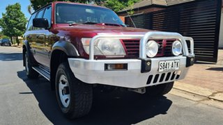 2000 Nissan Patrol GU II ST Burgundy 4 Speed Automatic Wagon