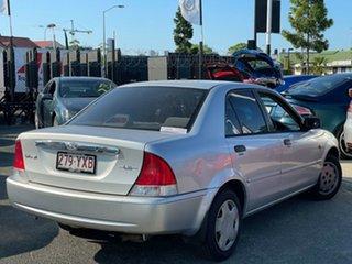 2001 Ford Laser KN LXI Silver 5 Speed Manual Sedan.