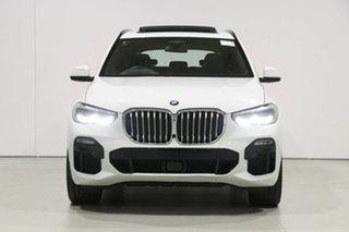 2019 BMW X5 G05 xDrive 30D White 8 Speed Auto Steptronic Sport Wagon.