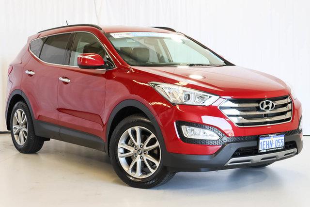Used Hyundai Santa Fe DM MY13 Elite Wangara, 2013 Hyundai Santa Fe DM MY13 Elite Red 6 Speed Sports Automatic Wagon