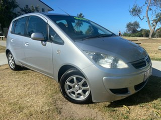 2006 Mitsubishi Colt RG MY06.5 LS Silver 1 Speed Constant Variable Hatchback.
