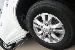 2012 Toyota Landcruiser VDJ200R MY12 GXL White 6 Speed Sports Automatic Wagon