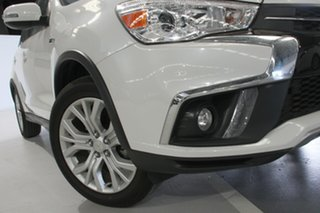 2018 Mitsubishi ASX XC MY19 ES ADAS ( 2WD) White Continuous Variable Wagon.