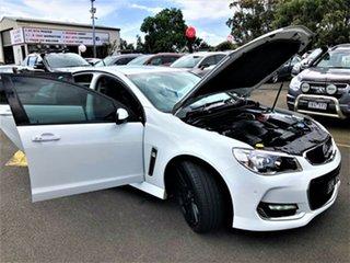 2017 Holden Commodore VF II MY17 SS White 6 Speed Sports Automatic Sedan