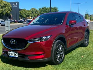2018 Mazda CX-5 KF4WLA GT SKYACTIV-Drive i-ACTIV AWD Soul Red 6 Speed Sports Automatic Wagon.