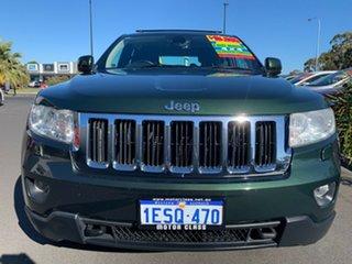 2011 Jeep Grand Cherokee WK MY2011 Laredo Green 5 Speed Sports Automatic Wagon