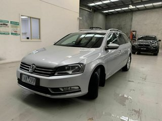2011 Volkswagen Passat Type 3C MY12 118TSI DSG Silver 7 Speed Sports Automatic Dual Clutch Wagon.