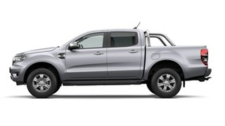 2020 Ford Ranger PX MkIII 2021.25MY XLT Aluminium Silver 6 Speed Manual Double Cab Pick Up.