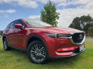 2017 Mazda CX-5 KF2W7A Maxx SKYACTIV-Drive FWD Sport Soul Red Crystal 6 Speed Sports Automatic Wagon.