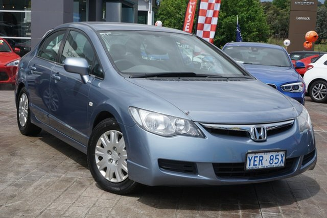 Used Honda Civic 8th Gen VTi-L Phillip, 2006 Honda Civic 8th Gen VTi-L Blue 5 Speed Manual Sedan