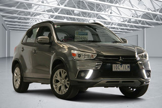 2018 Mitsubishi ASX XC MY19 ES ADAS ( 2WD) Grey Continuous Variable Wagon