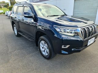 2017 Toyota Landcruiser Prado GDJ150R GXL Blue 6 Speed Sports Automatic Wagon.
