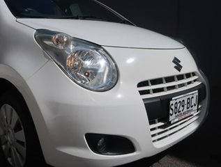 2013 Suzuki Alto GF GL White 4 Speed Automatic Hatchback