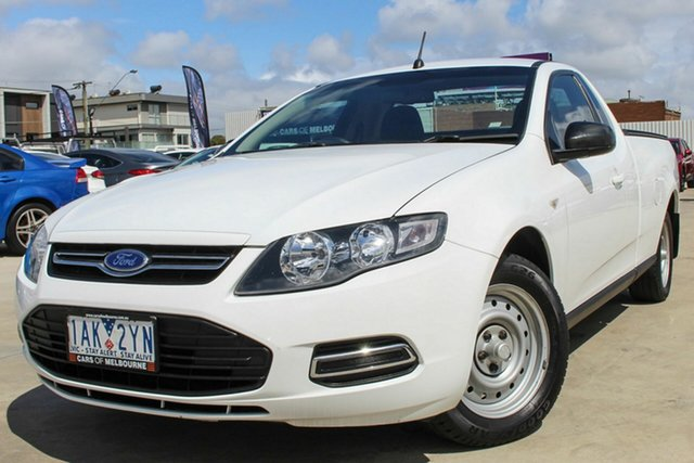Used Ford Falcon FG MkII EcoLPi Ute Super Cab Coburg North, 2013 Ford Falcon FG MkII EcoLPi Ute Super Cab White 6 Speed Sports Automatic Utility