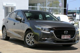 2017 Mazda 3 BN5278 Maxx SKYACTIV-Drive Machine Grey 6 Speed Sports Automatic Sedan.