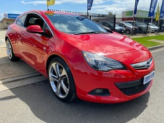 2012 Opel Astra AS GTC Sport Red 6 Speed Manual Hatchback.